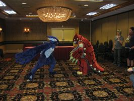 RMFC2011 Lugia vs. Groudon by Leap207