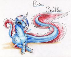 Meet Pepsea Bubbles by DragonaDeMetal