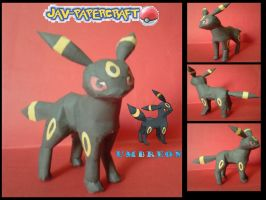 Umbreon papercraft by javierini