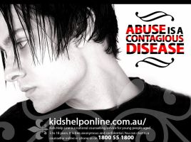 Abuse is a Contagious Disease by skinniouschinnious