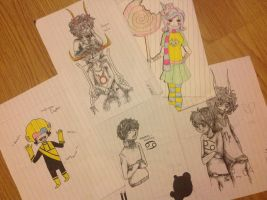 Drawing requests~ any character, any fandom. by Chibi-MsHollowfox