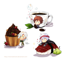 Chibi Food | 1st batch by ReversedClock