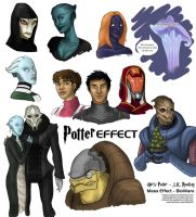 Harry Potter in Mass Effect by octopus-patronus
