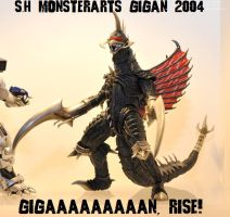 S.H Monsterarts Gigan 2004/Final Wars by GIGAN05