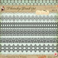 French Borders Brushes 2 by starsunflowerstudio