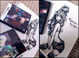 Let's support Zero Escape! by Tiffany-Tees