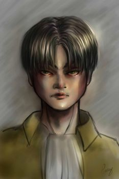Rivaille by Dame-Cruz