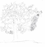 The Y and V tree by zendevil