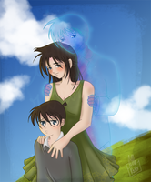 Conan and Ran by Little-Roisin