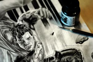 Man Of Steel 2 by ilmyart