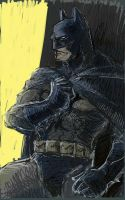 Samsung Galaxy Note: Batman by rook-over-here