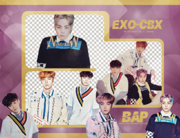 Pack Png #650 // EXO-CBX (Girls!) by BEAPANDA
