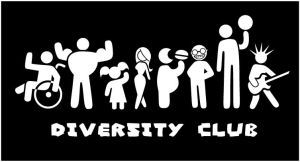 Diversity Club Shirt Design 1 by rebel-penguin