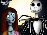 Jack and Sally by BlackD0ve