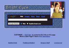 Bright Eyes Startpage by AwesomeStart