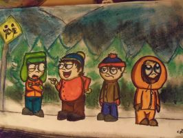 South Park by CAMIKOOPA