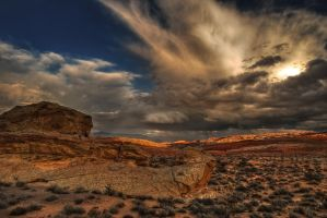 Desert Storms I by sciph