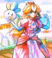 Princess Peach by LadyKuki