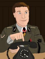 Col. Hans Landa by TheSimpsonsFanGirl