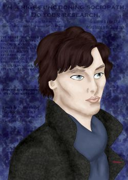 BBC Sherlock Holmes by comicalclare