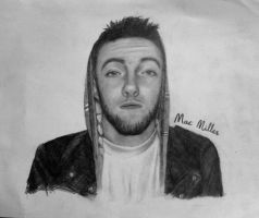 Mac Miller by joop3r
