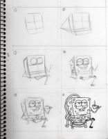Draw Spongebob by HettyBobcat