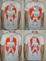 Versus t-shirt series by Teagle