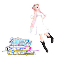 MMD DT Chiffon Dress luka DL by Haru-Cha