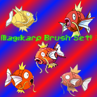 Magikarp Brush Set by SuperMarioBrosWii