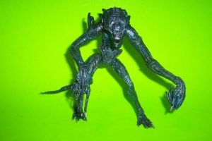 7-Inch Scale Gorilla Alien Custom Action Figure by Drakhand006