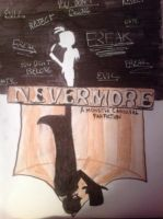 Nevermore Fanfiction cover v2 by 1313cookie