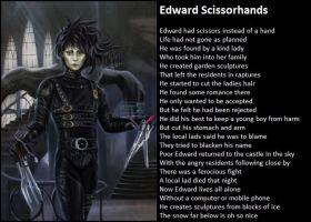 Edward Scissorhands by demonrobber