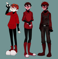 The Evolution Of Alex by Rad-Pax