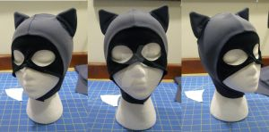 Catwoman BTAS costume hood by hollymessinger