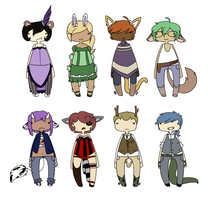 Set 8: Western by spacecaptainadopts