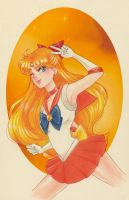 Sailor Venus by Watertae