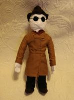 Invisible Man plush by silentorchid