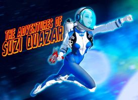 Suzi Quazar Title Card by jaheath