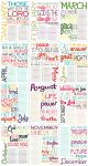 2011 Bible Verse Calendar by lizzAy