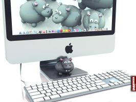 Archigraphs Hippo Wallpapers by Cyberella74