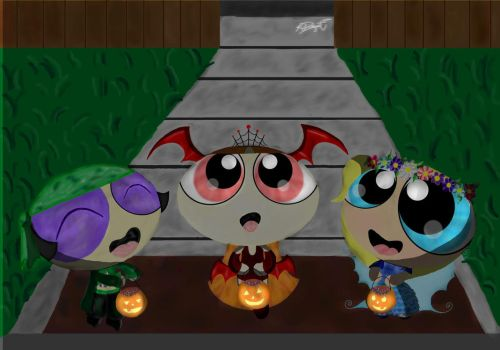 Trick Or Treat 2015 by AfricanPrincess981