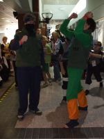 Animethon 14 - Kakashi and Gai by Blind-Fox