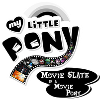 Fanart - MLP My Little Pony Logo - Movie Slate by jamescorck