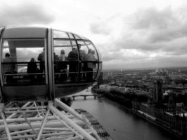 london eye view by cottoncandycookie
