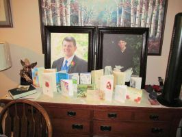 Funeral Cards and Paul's Big Portraits by BigMac1212