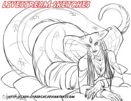 April2  Livestream Commissions 2 by lady-cybercat