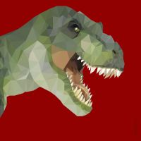 Low Poly T-Rex by Caen-N