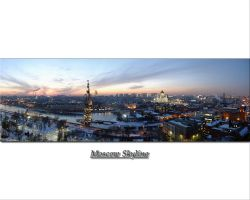 Moscow Skyline by noelholland