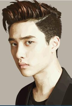 D.O portrait by Turquoise-luck