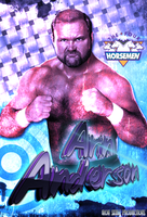 WRESTLING - ARN ANDERSON poster by TheIronSkull